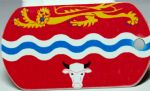 Herefordshire County Flag Tag